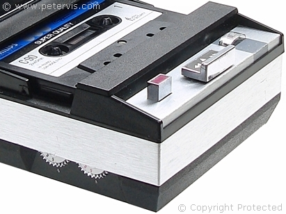 philips compact cassette recorder el 3302