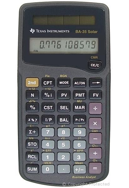 Texas instruments ba35 solar calculator: amazon. Co. Uk: electronics.