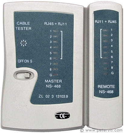 Cat 5 cable testers: multi-modular cable tester | eclipse tools.